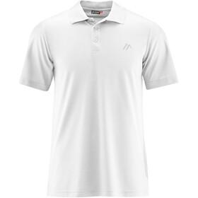 Maier Sports Ulrich Poloshirt Heren, white